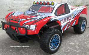 New Short Course RC Truck Brushless Electric 4WD LIPO 2.4 G Fast