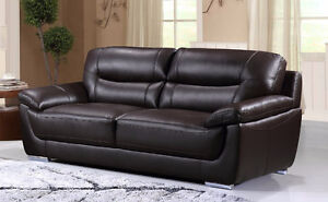 Bryce Genuine Leather Sofa ONLY $1199 TAX IN!