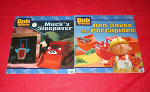 2x assorted Bob The Builder books