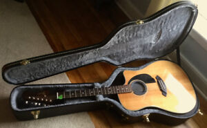Fender Sonoran Acoustic-Electric Guitar and Hard Case