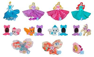 Kinder Surprise Palace Pets Disney Princess Girls Toys Figures 2016 UK New Party