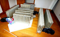 HOT WATER RADIATORS FOR SALE / radiateurs à eau chaude à vendre