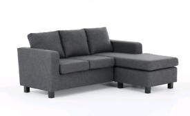 Brand Corner Sofa and two seats sofa.