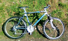 Saracen aluminium frame bike