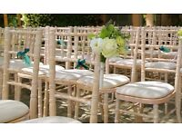 Chiavari Wedding Chair Hire, Banqueting tables, Trestle tables, free local delivery