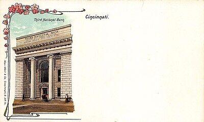Cincinnati Oh Third National Bank Number 14 Postcard