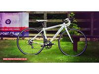 """Junior Road bike Boardman sport/e 17"""" Frame 14 speed. Claris Rear shifters. Unmarked frame."""