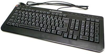 Alienware SK-8165 Slim Black Multimedia USB Wired Keyboard (ML4431)