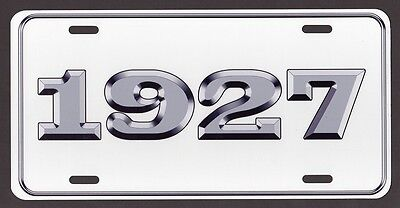 1927 LICENSE PLATE Ford Chevy Dodge Plymouth Buick Olds DeSoto Streetrod Rat rod