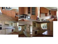 Kitchen makeover / spraying services