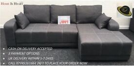 ***BRAND NEW* LUXURY DALLAS SOFA BED AVAILABLE IN LEFT OR RIGHT HAND VERSION * UK DELIVERY *
