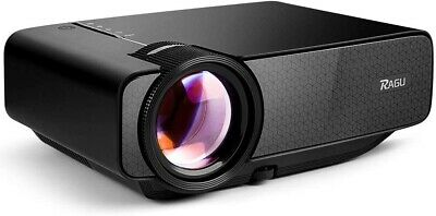 RAGU Mini Projector, Multimedia Home Theater Video Projector USB ,HDMI, VGA