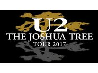 x4 Joshua Tree U2 Tickets @ Twickenham Stadium 9th July 2017