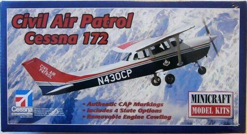 Minicraft 11651 Cessna 172 Civil Air Patrol aircraft plastic model kit 1/48