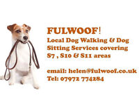 FULWOOF! Local Dog walking and Pet Sitting covering South West Sheffield: Call 07972 774284