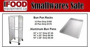 Bun Pan Racks / Bakery Racks and Pan Limited Time Sale