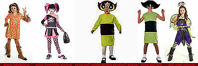 NW girls costumes gothic chearleader@ power puff @groovy kid @more@ goth angelel (Power Puff Girls Costume)