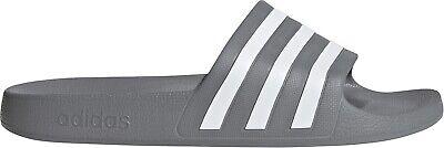 adidas Adilette Aqua Sliders - Grey