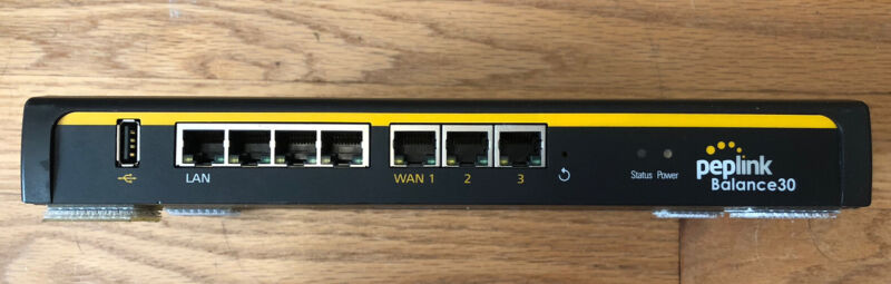 Peplink Balance 30 - BPL-031 Multi-WAN Router Latest Firmware