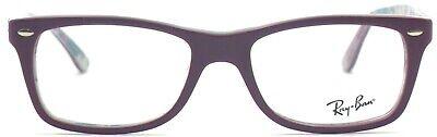 Ray-Ban Damen Herren Brillenfassung RX5228 5408 50mm violett Vollrand 357 40