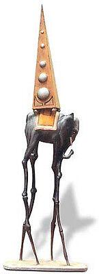 SALVADOR DALI Elephant Sculpture Animal Surreal Figurine Sculpture Figure Statue