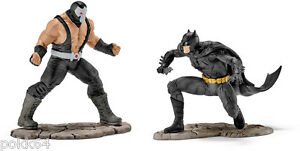 DC-Comics-pacco-2-figurine-Justice-League-13-Batman-versione-Bane-Schleich