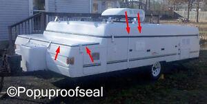 1996-2003 COLEMAN FLEETWOOD Roof Seal & Storage Lid Seal Popup Tent Trailer