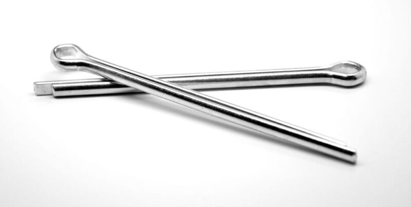 """1/4"""" x 3"""" Cotter Pin Low Carbon Steel Zinc Plated"""