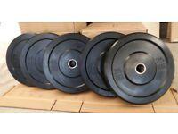 *BRAND NEW & BOXED* Heavy Duty Bumper Plates 150kg Sets @ £2 per Kilo
