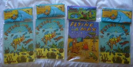 4 x QANTAS Flying With Max Activity Packs (MINT CONDITION). 1998