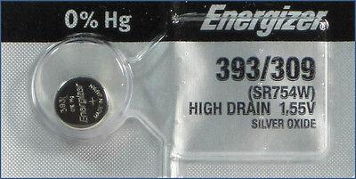 1 Pc Energizer 393 309 SR754SW SR754 Battery