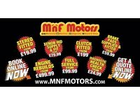 MnF motors Mechanical & Electrical repairs - DPF REMOVAL + REMAP