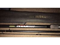Shakespeare MG Match 1801 300 Float/Ledger/Course Fishing Rod 3pc 10ft / 3m