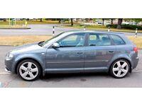 AUDI A3 TDI S LINE AUTO 5 DOOR NO OFFERS Cambelt done @ 60k (Not BMW,Mercedes,Vauxhall,VW,Honda)