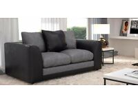 100% Cheapest price offer - Dylan Chenille fabric 3+2 seater sofa set - Brand new same day delivery