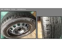 """16"""" BMW Spare Wheel And Tyre Size 205/55R/16"""
