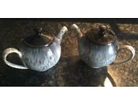 DENBY Halo salt and pepper teapot set