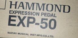 HAMMOND ORGAN EXP-50 Expression pedal / Volume control