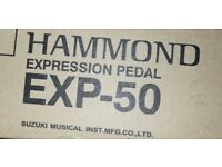 HAMMOND ORGAN EXP-50 Expression pedal / Volume control. post free in UK