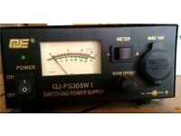 QJE PS30SWI 30 AMP Peak Switch Mode Power Supply