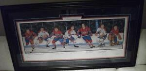 MONTREAL CANADIENS SIGNED RICHARD GEOFFRION WORSLEY and more!!!