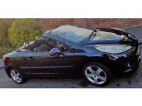 Peugeot 207cc - Black Hard-Top Convertible