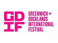 Festival Volunteer for Greenwich + Docklands International Festival, based in Greenwich Park