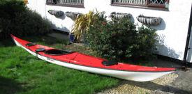 NDK Romany sea kayak + RUK paddle