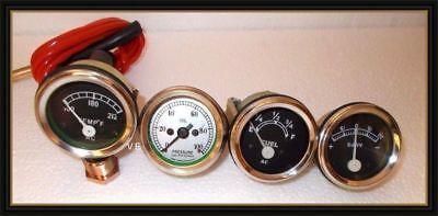Tachometer Tempe Oil Pressure Ammeter Fuel Gauge For David Brown Tractor