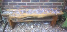 Handmade Wooden Garden Bench - Made in the UK