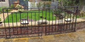 Iron Driveway and Garden Gates