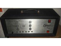 Selmer treble and bass 50SV 50w vintage british valve amplifier tube amp 50 SV