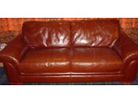 3 Seat Leather Sofa Very good condition