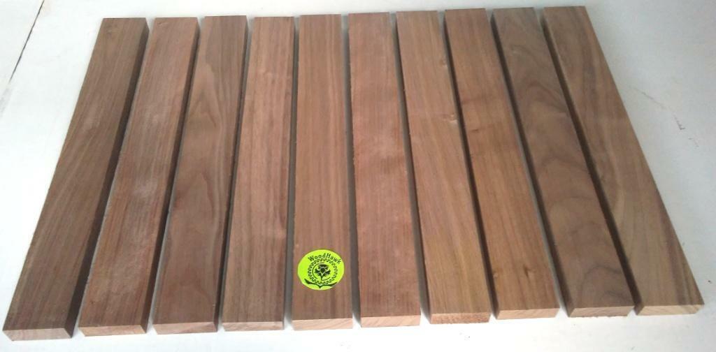 """3/4"""" x 2"""" x 16"""" BLACK WALNUT Hardwood Lumber made by W"""